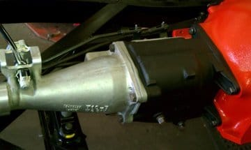 "T-10 4-Speed Transmission. Ken Kayser of Kayser Specialty Co. will be showing a freshly restored Rare 1957 Corvette RPO-579D ""Airbox"" Chassis in the Vette Vues Magazine booth at Corvettes @ Carlisle August 24-26, 2012 in Building T."
