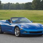 2009 Chevrolet Corvette Convertible in Jetstream Blue Metallic. X09CH_CR099 (United States)