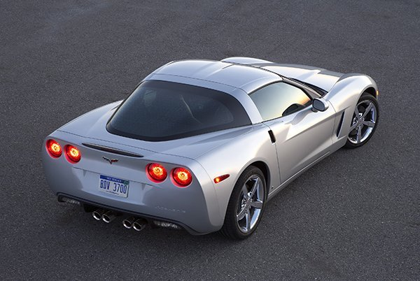 2009 Chevrolet Corvette Coupe.