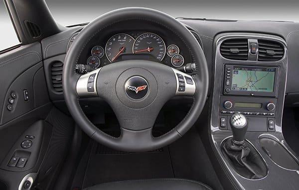 2009 Chevrolet Corvette Coupe.