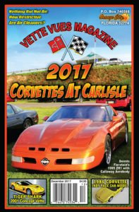 December 2017 Issue Vette Vues Magazine Cover