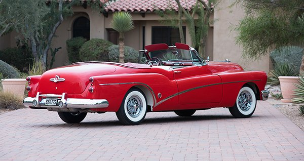 Lot #1353 – 1953 Buick Skylark Convertible