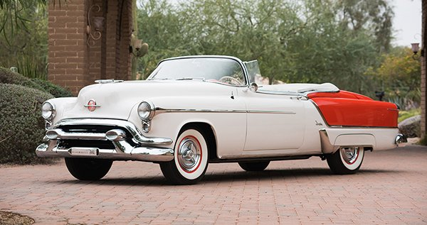 Lot # 1353.2 – 1953 Oldsmobile Fiesta Convertible