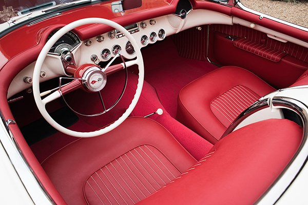 Lot #1353.3 – 1953 Chevrolet Corvette 235/150 Convertible