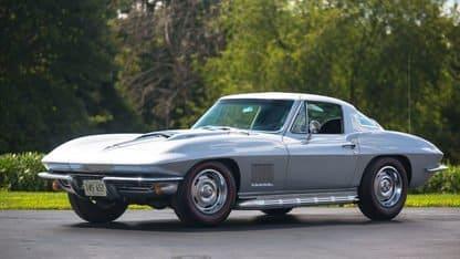 Two Corvettes in Top Ten Sales Las Vegas Auction