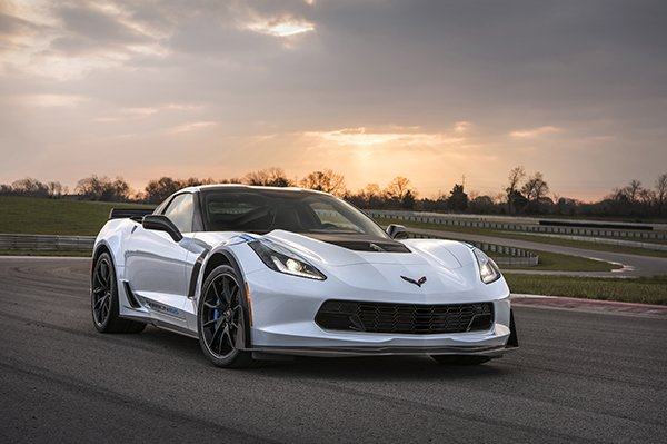 2018 Corvette Carbon 65 Auctioned for Charity