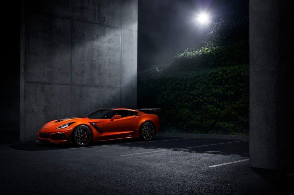 The fastest, most powerful production Corvette ever – the 755-horsepower 2019 Corvette ZR1.