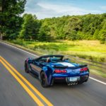 In addition to the track-focused chassis and suspension components, the Grand Sport coupe and convertible feature unique exterior elements, including specific front fender inserts and Z06-style grille, as well as wider fenders and rear quarter panels to accommodate a wider track.