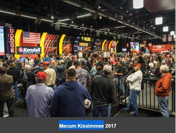 Mecum Kissimmee Florida Auction January 5-14
