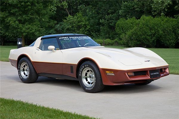 First Bowling Green Corvette | Last St Louis Corvette | 1981 Corvettes Photo Gallery