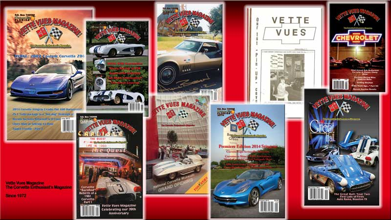 Vette Vues Magazine Covers