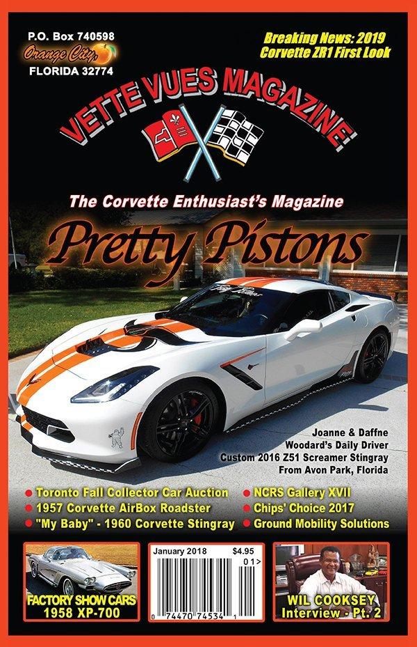 January 2018 Cover Vette Vues Magazine