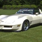 Last St. Louis Corvette a 1981 Corvette Photo courtesy Barrett-Jackson