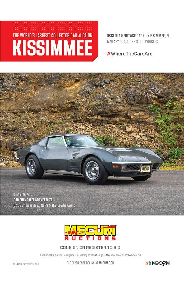 Fl Kissimmee January 5 14 Me Auction Will Have Over 3 000 Cars And
