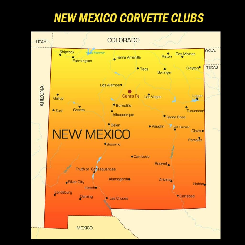 New Mexico Corvette Club Directory