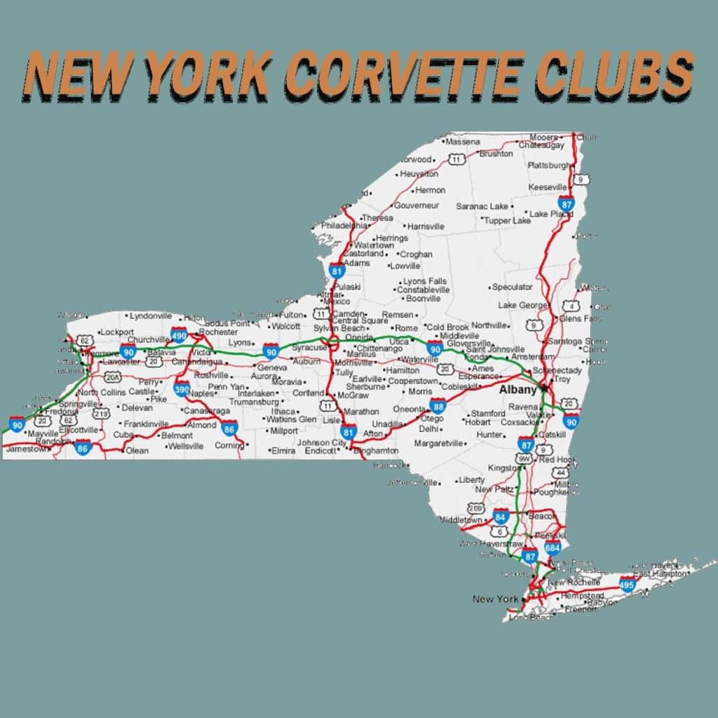 New York Corvette Club Directory