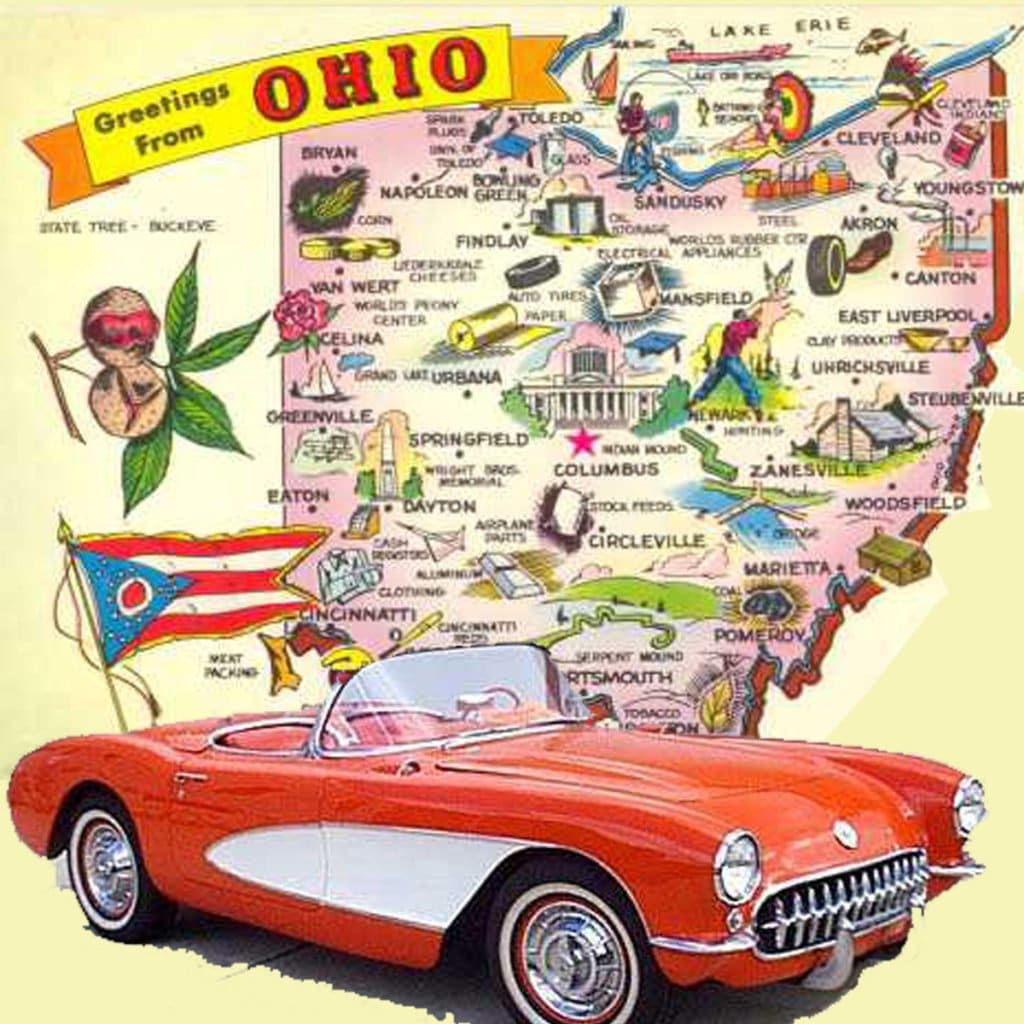 Ohio Corvette Club Directory