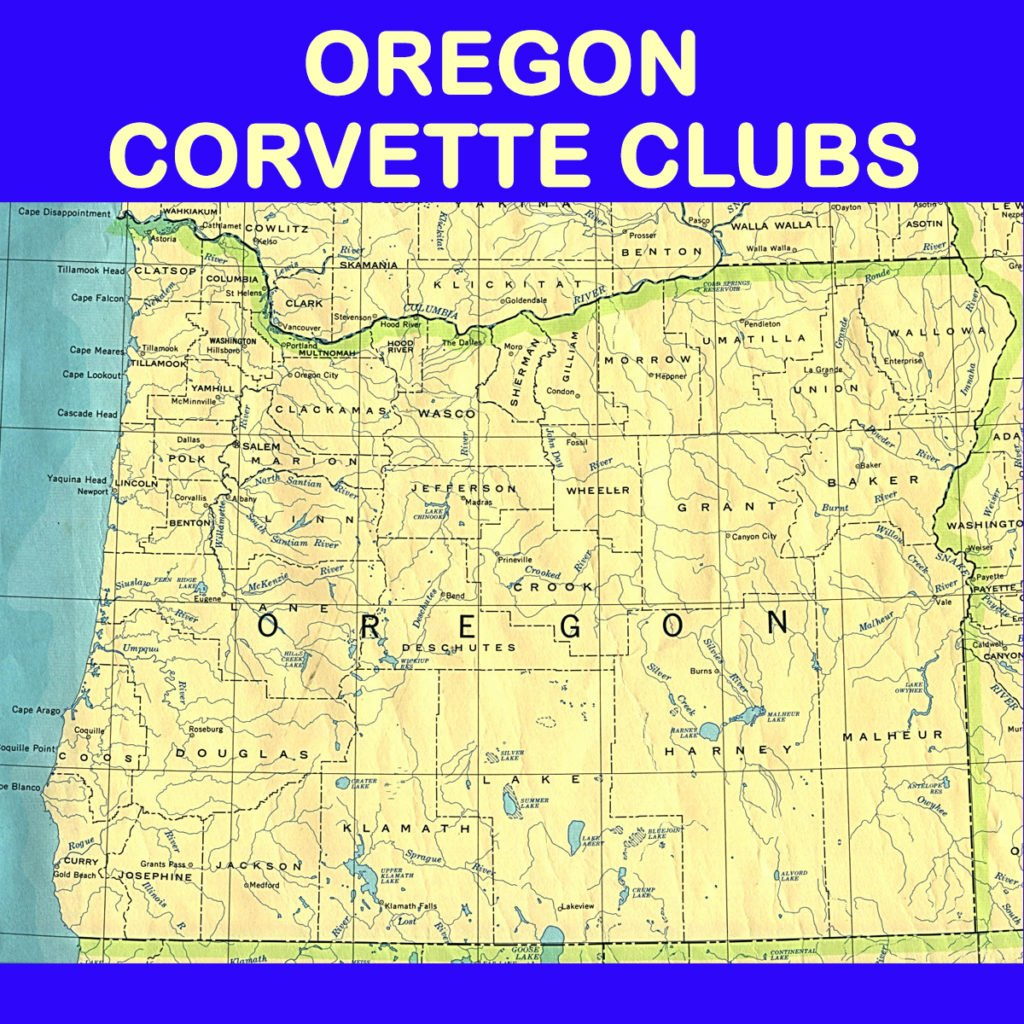 Oregon Corvette Club Directory