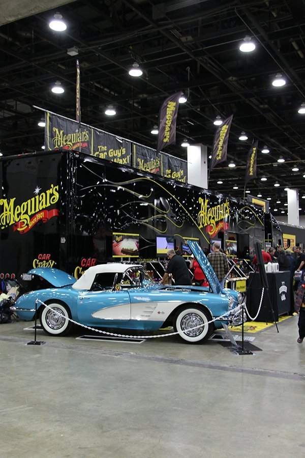 CORVETTES at 2017 DETROIT AUTORAMA