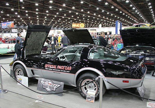 1978 Indy Pace Car Corvette owned by Joe Hall from Swartz Creek (MI)
