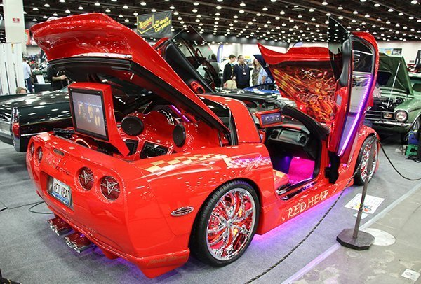 K Poole's Red Heat 1998 Corvette