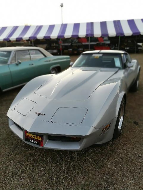 1981 CHEVROLET CORVETTE COUPE at the Mecum Auction Kissimmee 2018