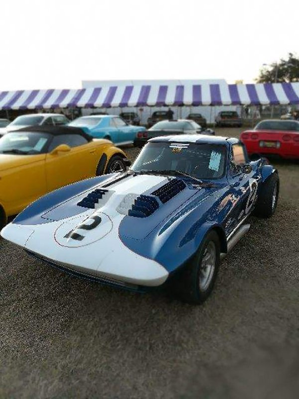 1963 Corvette Grand Sport replica is Serial No. 003 of a series of 136 eventually built by D and D.
