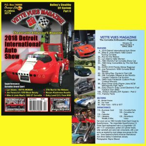 April 2018 issue of Vette Vues Magazine
