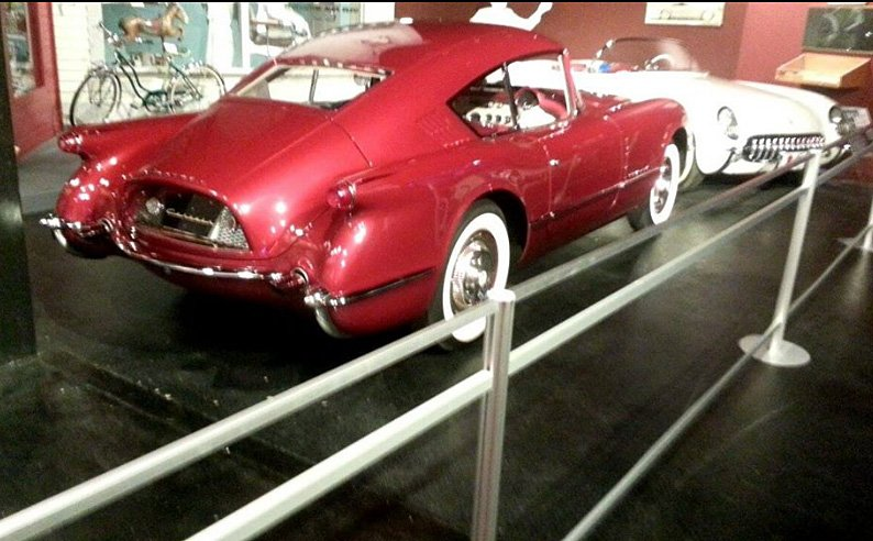 1954 - Brett Henderson Corvair replica at NCM