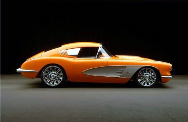 1959 - Corvette with Corvair fastback kit