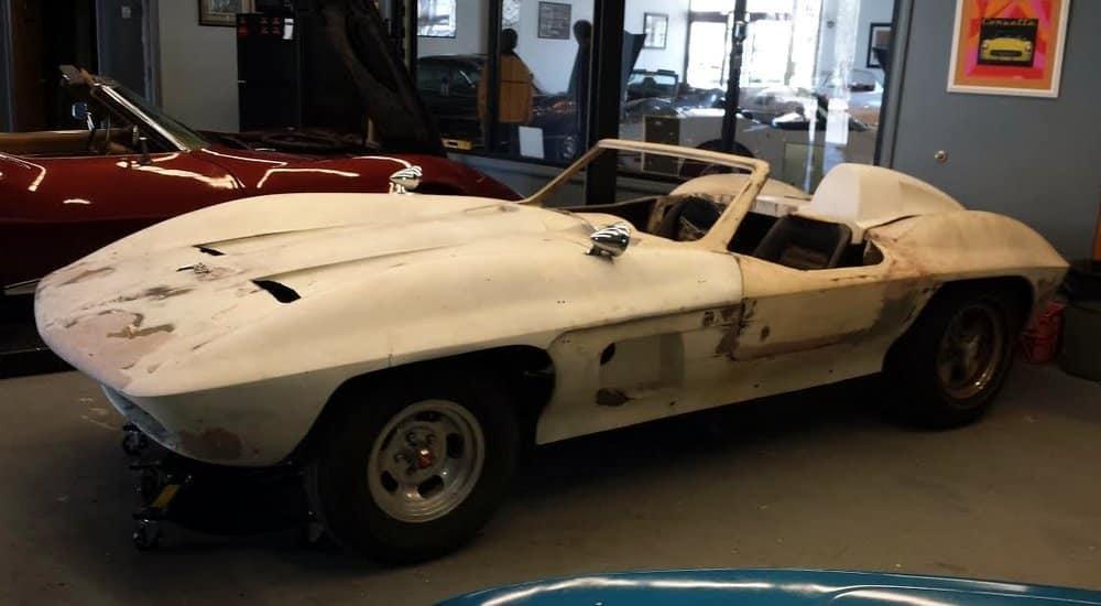 1959-65 - Fiberfab's Corvette Stingray Racer Kits