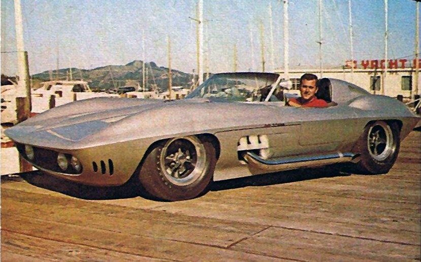 1959-65 - Fiberfab's Corvette Stingray replica at Monterrey