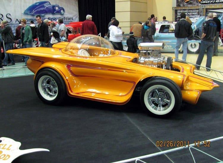 1953-55 - Bubbletop Custom Corvette