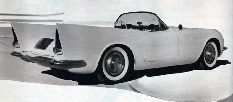 1955 - Custom Corvettes - Al Gratz