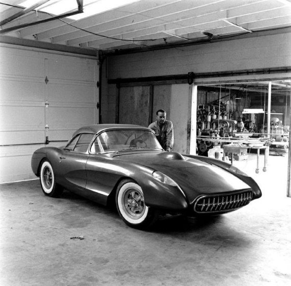 1957 Corvette - Bob Hartley - prepped for NHRA