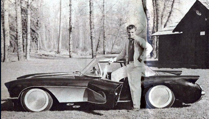 1957 - Custom Corvettes - Bob Caldwell