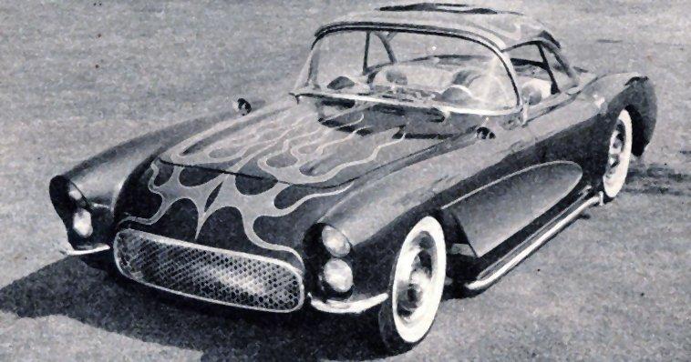 1957 - Custom Corvettes - Darol Jorgensen
