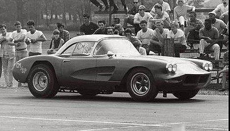 1960 Drag Corvette - Custom Body CMSP