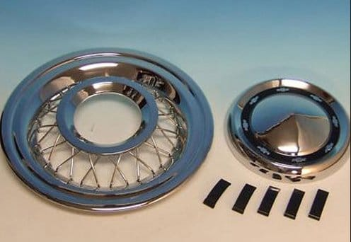 1950s Corvette Bolt-on Wire Wheel Covers