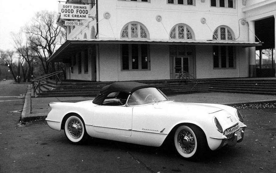 1953-55 Corvette Wire Wheels