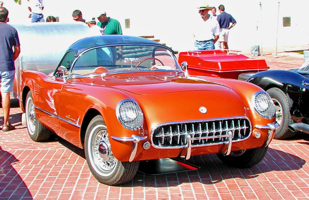 1953-55 Corvette Wire Wheels and Plexi