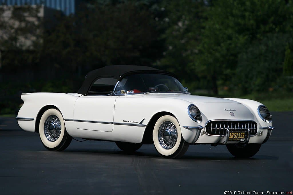 1953 - McCulloch Supercharged Corvette