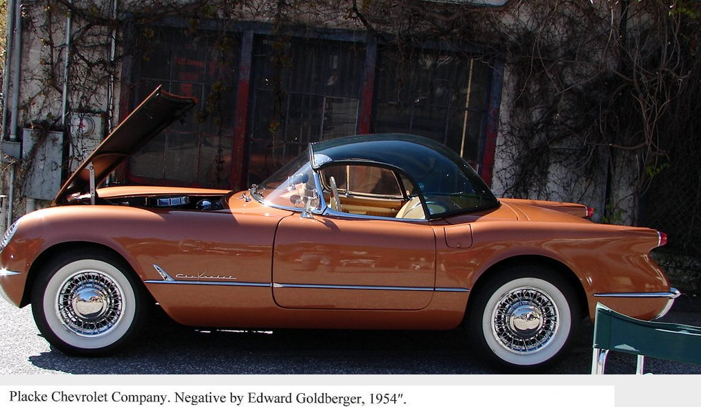 1954 Corvette Wire Wheels - Placke Chevrolet - Photo Credits Ed Goldberger