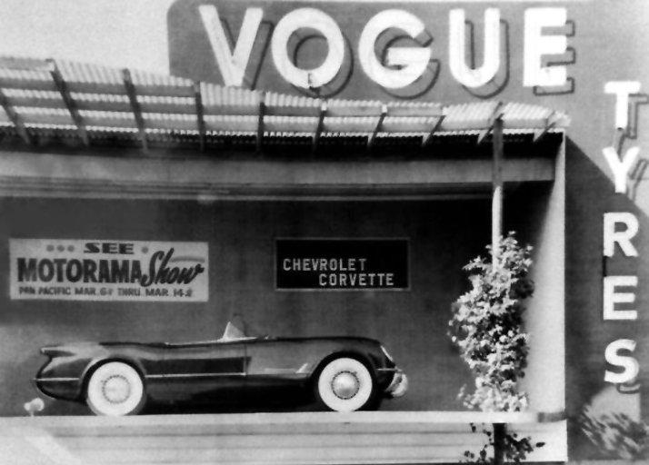 1954 Corvette Wire Wheels