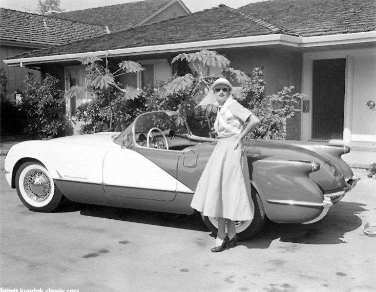 1955 Custom Corvette with Wire Wheels