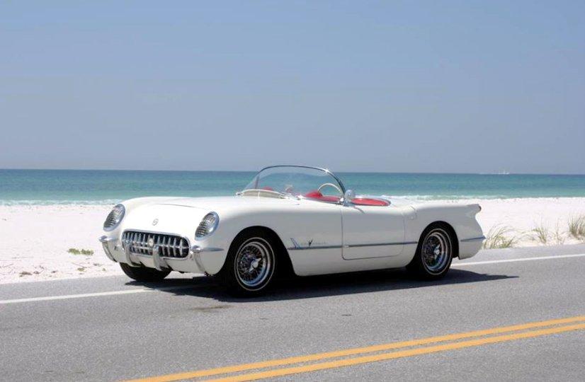 1955 - Corvette Wire Wheels