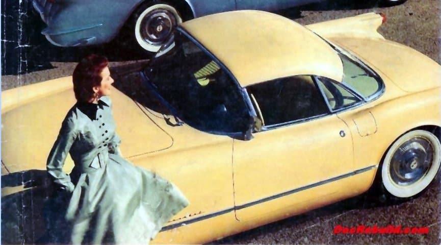 1954 Corvette Motorama - US Tour