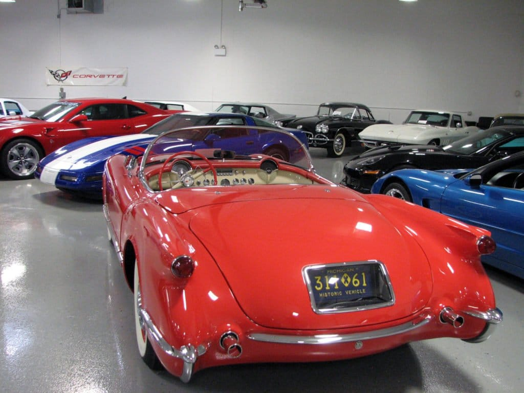 2002 AAT Corvette with 1953 Style