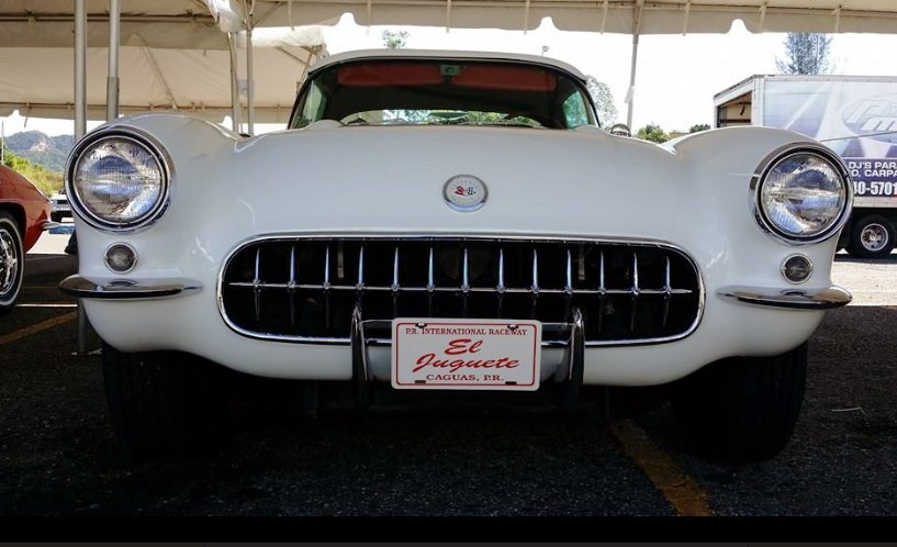 1957 Corvette With Modified Hardtop in Puerto Rico