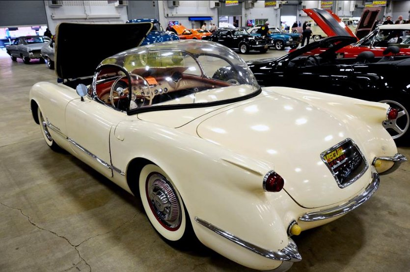 1954 Corvette Bubbletop